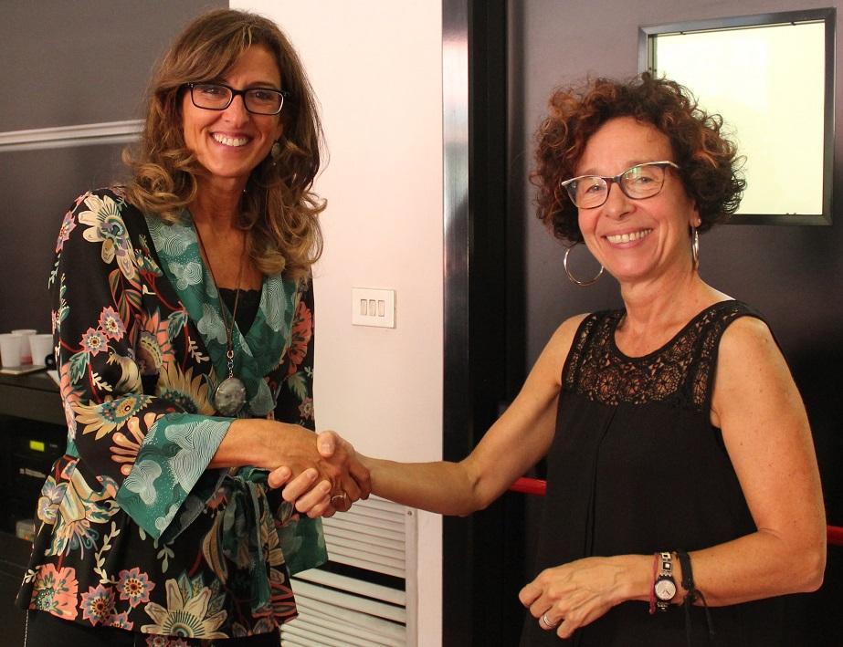 Maddalena Collini e Silvia Penati