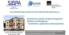 XXV School of Pure and Applied Biophysics